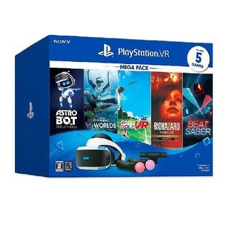 プレイステーションヴィーアール(PlayStation VR)の新品未使用品 PSVR メガパック(家庭用ゲーム機本体)