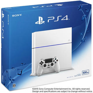 PlayStation4 - PS4 白 500GB