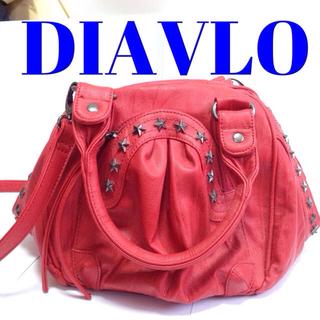 ディアブロ(Diavlo)のDIALVO✡スタッズ付2wayバッグ(ハンドバッグ)