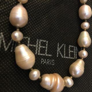 ミッシェルクラン(MICHEL KLEIN)のミッシェルクランのバロックパールネックレス(ネックレス)