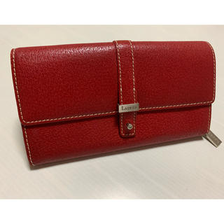 ラルフローレン(Ralph Lauren)のRALPH LAUREN ラルフローレン 長財布 赤 レッド レディース(財布)