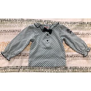 シャーリーテンプル(Shirley Temple)の80 ミントドットカットソー(シャツ/カットソー)
