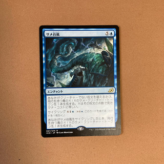 マジックザギャザリング(マジック:ザ・ギャザリング)のサメ台風 日本語版 MTG(シングルカード)