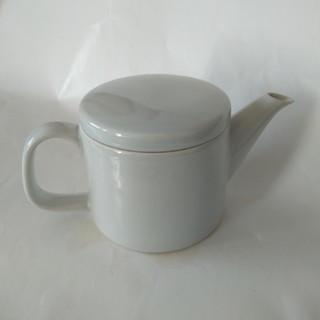ムジルシリョウヒン(MUJI (無印良品))の【未使用】無印良品 磁器灰釉 急須 約340ml(食器)