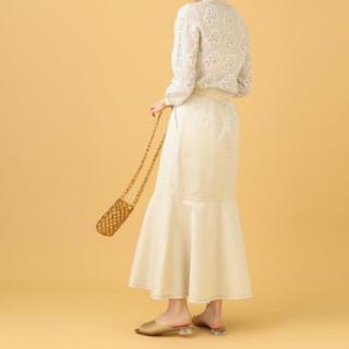 ミーアンドミークチュール(me & me couture)のミー&ミークチュール♡マーメイドスカート アイボリー♡大人気♡(ロングスカート)
