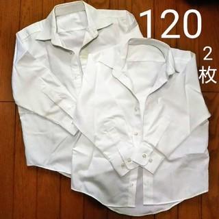 ニッセン(ニッセン)のスクールシャツ120cm 2枚  (Tシャツ/カットソー)