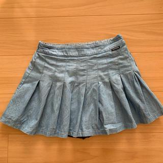 ラブトキシック(lovetoxic)のラブトキシック デニムスカパン Lサイズ(スカート)