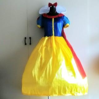 シラユキヒメ(白雪姫)の🍎白雪姫ドレス/パニエ付/S/新品(ドレス/フォーマル)