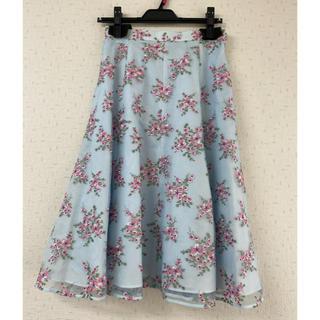 トッカ(TOCCA)のTocca スカート試着のみ サイズ4 極美品!(ひざ丈スカート)