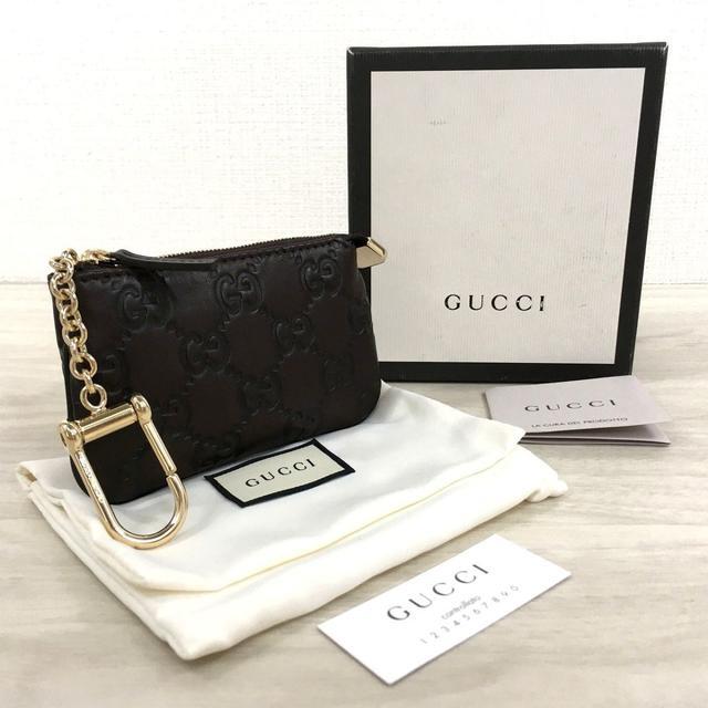 Gucci(グッチ)の未使用品 GUCCI コインケース 233183 グッチシマ 302 メンズのファッション小物(コインケース/小銭入れ)の商品写真