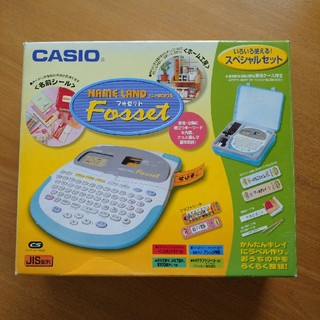 CASIO - CASIO NAME LAND フォセット