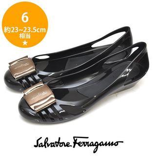 Salvatore Ferragamo - 新品❤フェラガモ BERMUDA ラバー サンダル 6(約23-23.5cm)