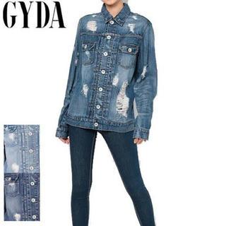 ジェイダ(GYDA)のGYDA ダメージGジャン(Gジャン/デニムジャケット)