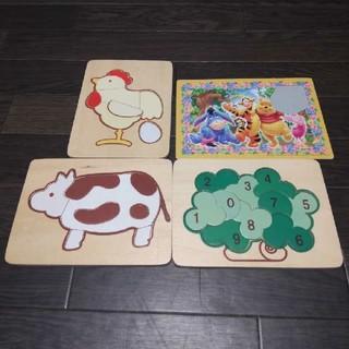 パズル 木製パズル 木のパズル 知恵玩具 型はめパズル 知育 プレゼント セット(知育玩具)