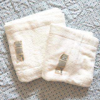 ムジルシリョウヒン(MUJI (無印良品))の新品 MUJI 無印良品 バスタオル厚手 中厚手 2枚セット(タオル/バス用品)