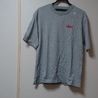 コカコーラ(コカ・コーラ)のGU ジーユー 新品 タグ付き コカ・コーラ Tシャツ M(Tシャツ/カットソー(半袖/袖なし))