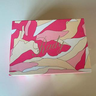 レディー(Rady)のrady 空箱(ショップ袋)