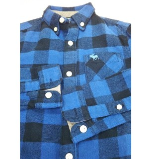 アバクロンビーアンドフィッチ(Abercrombie&Fitch)のお洒落!新品アバクロンビーネルシャツ3/4歳(その他)