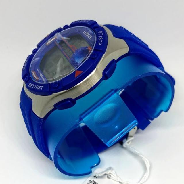 【日本未発売】LORUS スポーツ デジタル 腕時計 メンズ 100m防水 メンズの時計(腕時計(デジタル))の商品写真