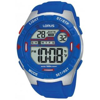 【日本未発売】LORUS スポーツ デジタル 腕時計 メンズ 100m防水(腕時計(デジタル))