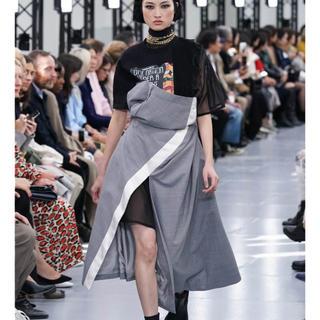 サカイ(sacai)の送料無料 タグ付き未使用 sacai suiting dress サイズ1(ひざ丈ワンピース)