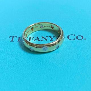 ティファニー(Tiffany & Co.)のTiffany ティファニー ドッツリング K18 PT950 ダイヤモンド (リング(指輪))