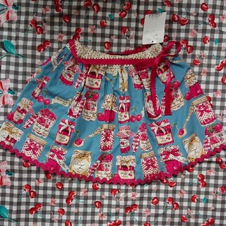 シャーリーテンプル(Shirley Temple)の新品タグ付き シャーリーテンプル ジャム瓶スカート 110(スカート)