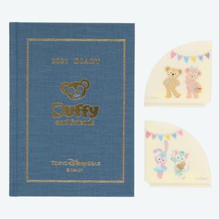 ディズニー(Disney)の新作♡ ダッフィー  フレンズ  手帳 スケジュール帳 2021(カレンダー/スケジュール)