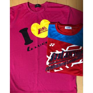 ヨネックス(YONEX)のヨネックス  Tシャツ O サイズ 半袖 2枚セット ルーセント(ウェア)