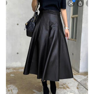 クリアインプレッション(CLEAR IMPRESSION)のクリアインプレッションのレザースカート  (ロングスカート)
