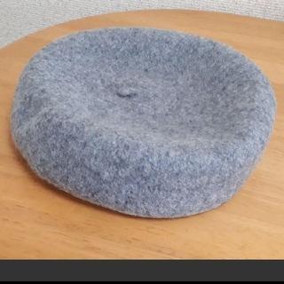 グレイル(GRL)の新品 グレイル ベレー帽 グレー(ハンチング/ベレー帽)