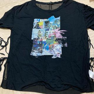 ローズバッド(ROSE BUD)のTシャツ バック シースルー(Tシャツ(半袖/袖なし))