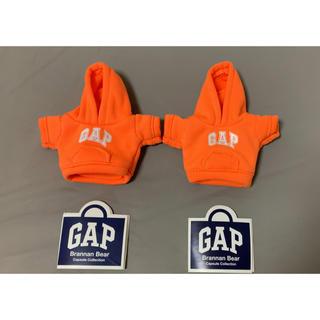 ギャップ(GAP)のGAP ガチャ ブラナンベア パーカー オレンジ 2枚セット(キャラクターグッズ)