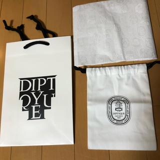 ディプティック(diptyque)のディプティック 布 袋 紙袋 ラッピング ペーパー セット(ショップ袋)