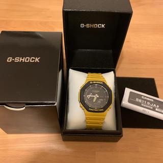 ジーショック(G-SHOCK)のga2110 Gショック イエロー(腕時計(デジタル))