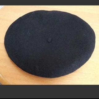 グレイル(GRL)の新品 グレイル ベレー帽 ブラック(ハンチング/ベレー帽)