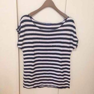 プーラフリーム(pour la frime)のボーダーTシャツ(Tシャツ(半袖/袖なし))