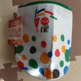 コカコーラ(コカ・コーラ)の新品 東京 オリンピック 保冷バック 緑 2020(ノベルティグッズ)