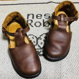 ビルケンシュトック(BIRKENSTOCK)のオーロラシューズ / ウエストインディアン / ブラウン(ローファー/革靴)