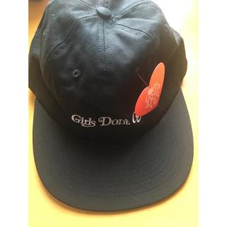 ジーディーシー(GDC)のGirls Don't Cry gdc cap 黒 ブラック(キャップ)