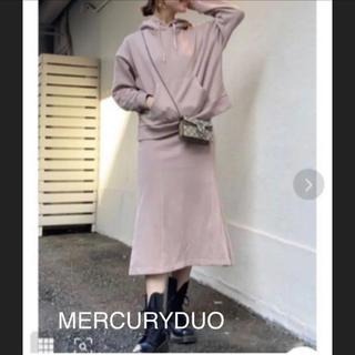 マーキュリーデュオ(MERCURYDUO)のパーカーセットアップ マーキュリーデュオ 新品タグ付!(セット/コーデ)
