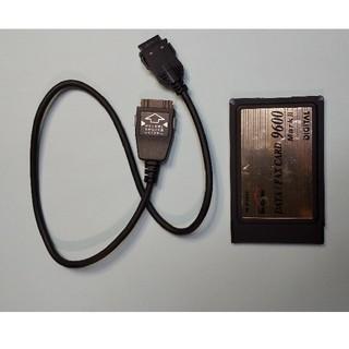 エヌティティドコモ(NTTdocomo)のDoCoMo DATA/FAX CARD 9600 MarkⅡ(PC周辺機器)