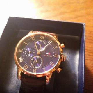 トミーヒルフィガー(TOMMY HILFIGER)のトミーヒルフィガー 腕時計 ブラウン 新品 並行輸入品(腕時計(アナログ))