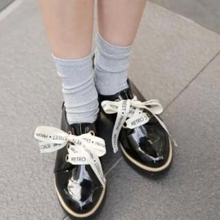 ヘザー(heather)の《送料込み》Heather マニッシュシューズ M ☆★(ローファー/革靴)