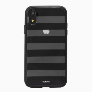 BONDIR iPhone XR ボーダーケース(iPhoneケース)