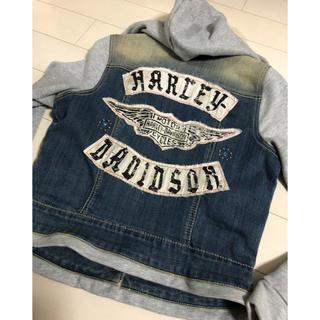 ハーレーダビッドソン(Harley Davidson)のハーレーダビッドソン レディースジージャン(ライダースジャケット)