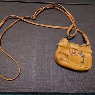 革製  首かけ財布(財布)