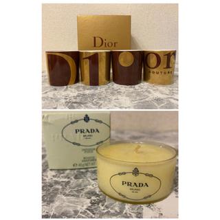 クリスチャンディオール(Christian Dior)の【めぐ様専用】Dior&PRADA  キャンドル♪(キャンドル)