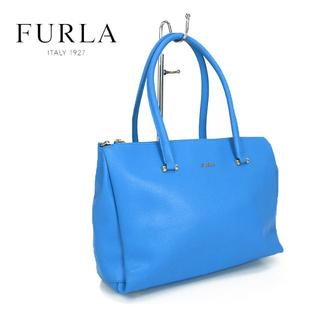 フルラ(Furla)の美品★FURLA フルラ 3ポケット レザーハンドバッグ(ハンドバッグ)