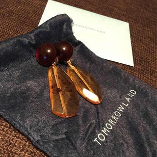 トゥモローランド(TOMORROWLAND)の【ほぼ新品】 TOMORROWLAND フランシンヌ ブラムリ パリ イヤリング(イヤリング)